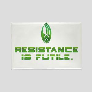 Star Trek Borg - Resistance Rectangle Magnet