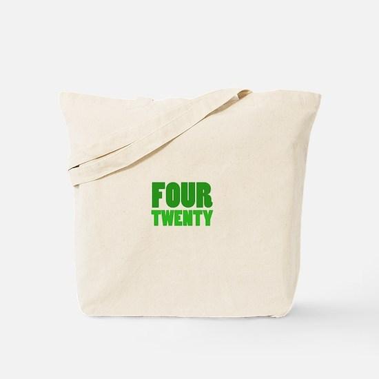 FOUR TWENTY Tote Bag