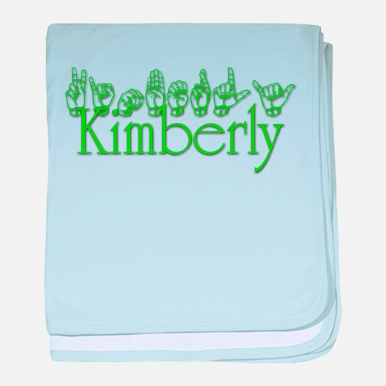 Cute Kimberly baby blanket