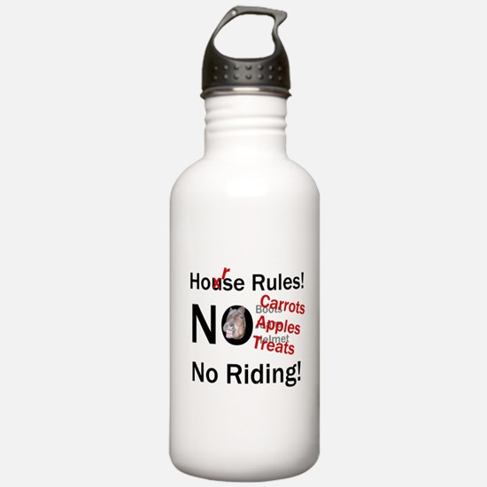 Horse Rules Water Bottle