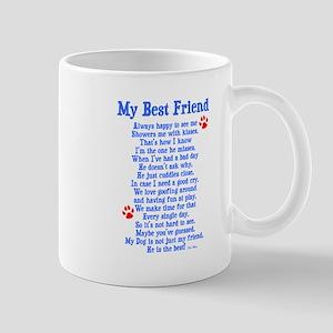 My Best Friend Dog Mug