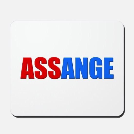 ASSange Mousepad