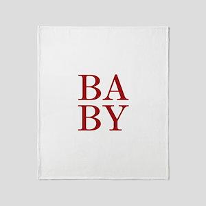BABY Throw Blanket
