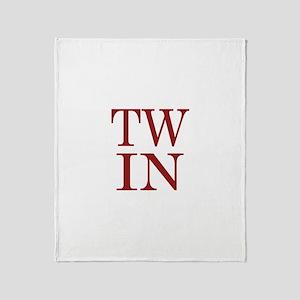 TWIN Throw Blanket