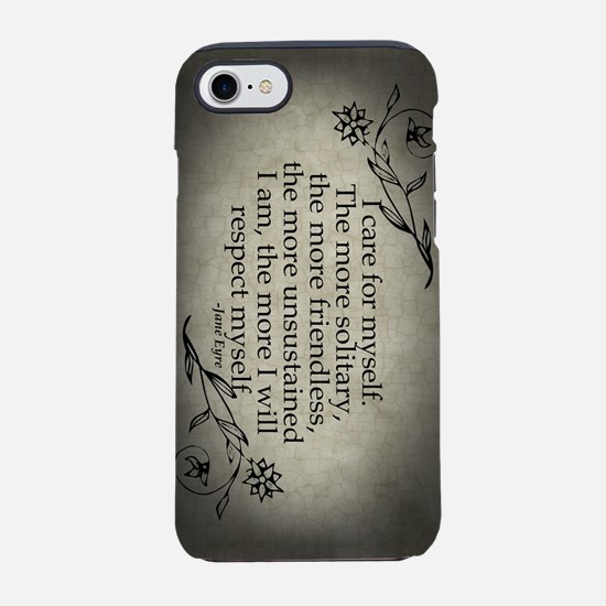 Jane Eyre Respect Myself iPhone 7 Tough Case