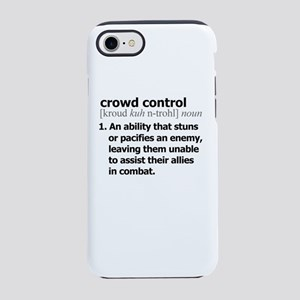 crowd control - dictionary def iPhone 7 Tough Case