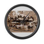 Bryant Park Large Wall Clock