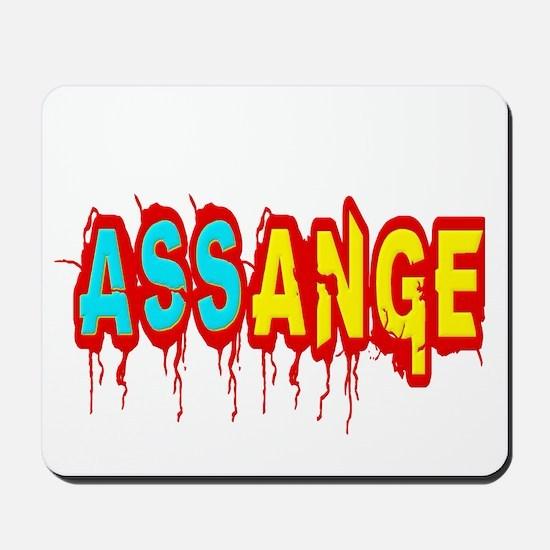 Assange Wikileaks Mousepad