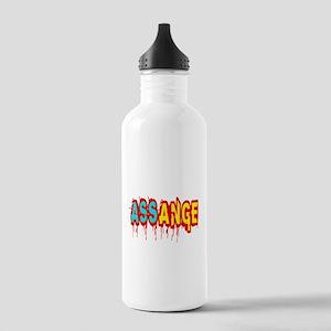 Assange Wikileaks Stainless Water Bottle 1.0L