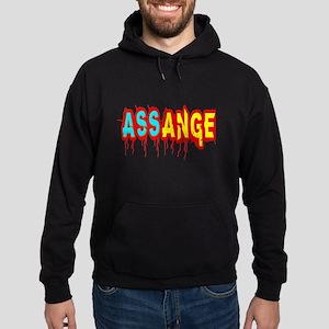 Assange Wikileaks Hoodie (dark)