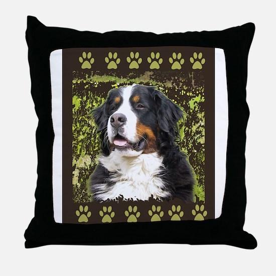 Bernese Mountain dog Home Dec Throw Pillow