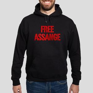 Free Assage Wikileaks Hoodie (dark)