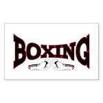Boxing Sticker (Rectangle 10 pk)