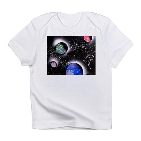 Outer Space Painting Infant T-Shirt