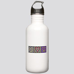 Peace Love Dogs (ALT) - Stainless Water Bottle 1.0