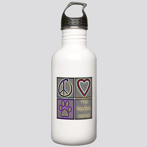 Perfect World: Dogs (ALT) - Stainless Water Bottle