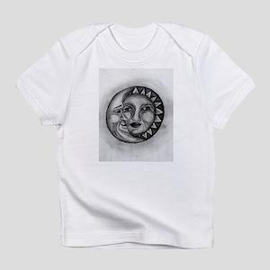 Sun & Moon Drawing Infant T-Shirt