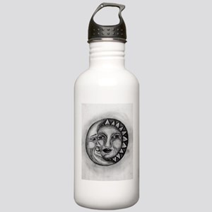 Sun & Moon Drawing Stainless Water Bottle 1.0L