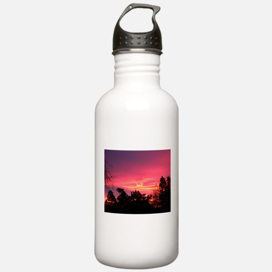 Pink Sunrise Water Bottle