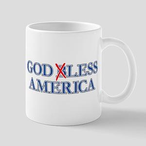Godless America, Atheist Mug Mugs