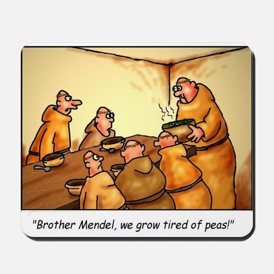 Mendel's Peas Mousepad