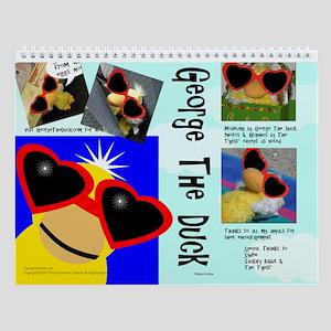 George the Duck Wall Calendar