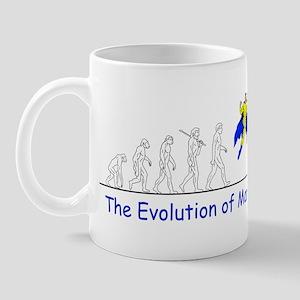The Evolution of Man Mug