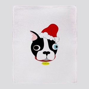 Santa Goblin! Throw Blanket