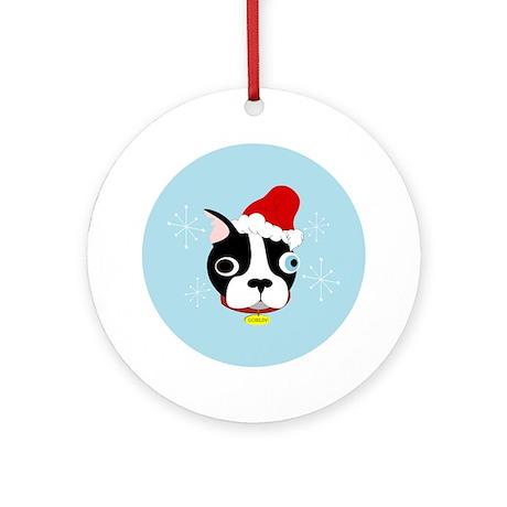 Santa Goblin! Ornament (Round)