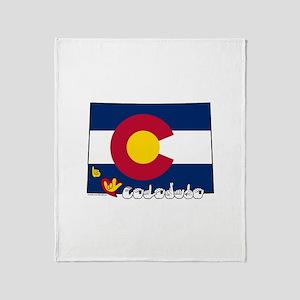ILY Colorado Throw Blanket