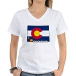 ILY Colorado Women's V-Neck T-Shirt