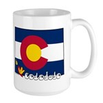 ILY Colorado Large Mug