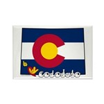 ILY Colorado Rectangle Magnet (10 pack)
