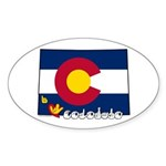 ILY Colorado Sticker (Oval 10 pk)