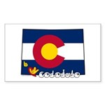 ILY Colorado Sticker (Rectangle 50 pk)