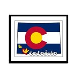 ILY Colorado Framed Panel Print