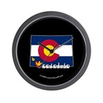 ILY Colorado Wall Clock