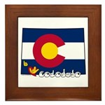 ILY Colorado Framed Tile