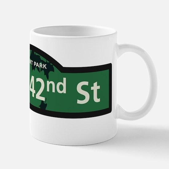West 42nd Street in NY Mug