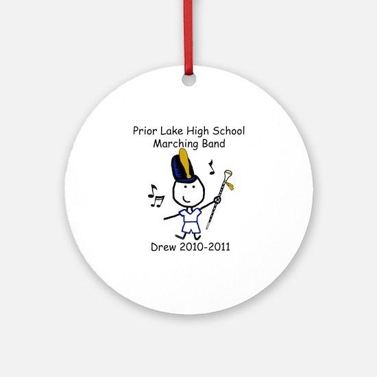 Drum Major - Drew Ornament (Round)