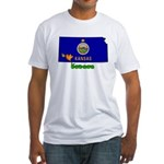 ILY Kansas Fitted T-Shirt