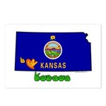 ILY Kansas Postcards (Package of 8)