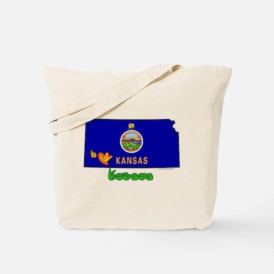 ILY Kansas Tote Bag