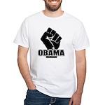 Obama Fist Impact! White T-Shirt