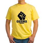 Obama Fist Impact! Yellow T-Shirt