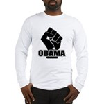 Obama Fist Impact! Long Sleeve T-Shirt