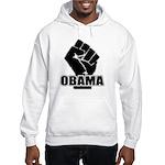 Obama Fist Impact! Hooded Sweatshirt
