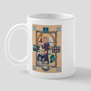 Saint Brendan Painting Mug