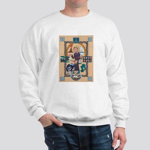 Saint Brendan Painting Sweatshirt