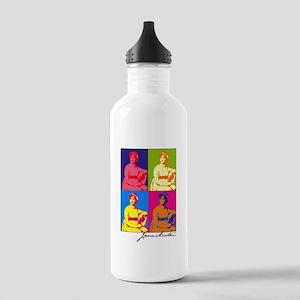 Jane Austen Pop Art Stainless Water Bottle 1.0L